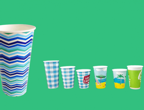 7.5oz-44oz Cold Drinking Paper Cup
