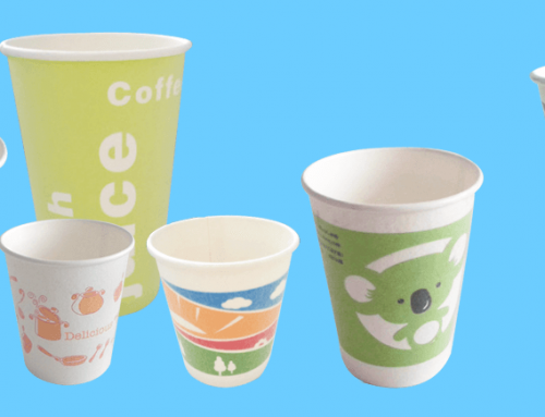 Foaming paper cup