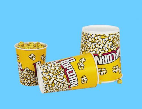 24oz-180oz Paper Popcorn Bucket/Tub